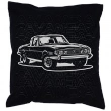 Triumph Stag (1970 - 1977) Car-Art-Kissen / Car-Art-Pillow