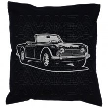 Triumph TR4 Car-Art-Kissen / Car-Art-Pillow
