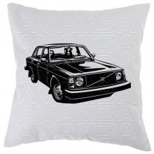 Volvo 240 / 242 / 244/ 245  (1974 - 1993) Car-Art-Kissen / Car-Art-Pillow
