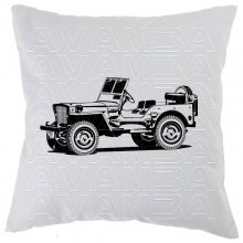 Willys Jeep  Car-Art-Kissen / Car-Art-Pillow