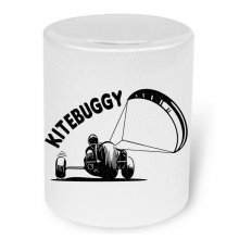 Kitebuggy (No.4)   Moneybox / Spardose mit Aufdruck