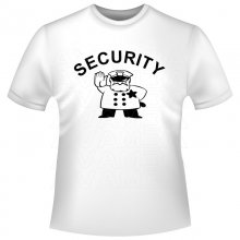 SECURITY (2) Shirt