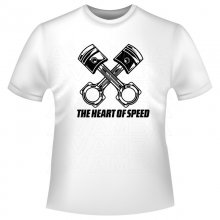 THE HEART OF SPEED  T-Shirt/Kapuzensweat (Hoodie)