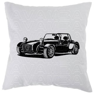 Caterham Seven CSR Car-Art-Kissen / Car-Art-Pillow