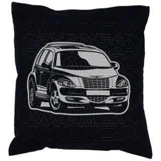 Chrysler PT Cruiser (2000 - 2010) Car-Art-Kissen / Car-Art-Pillow