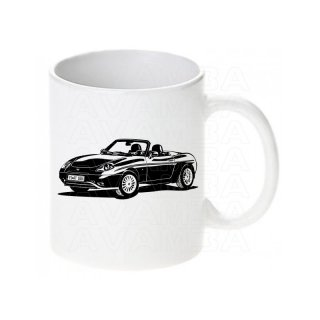 Fiat Barchetta Version 2  Tasse / Keramikbecher m. Aufdruck