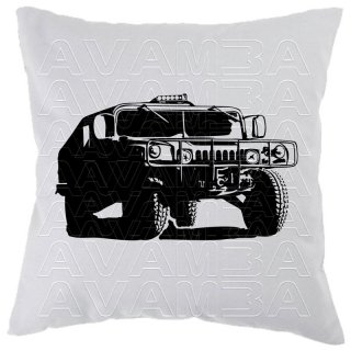 Humvee AM General Car-Art-Kissen / Car-Art-Pillow