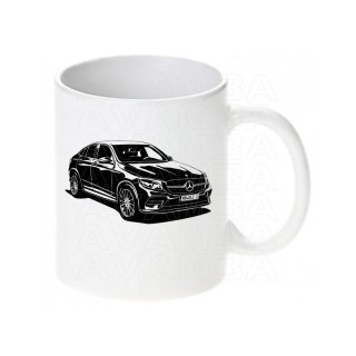 Mercedes GLC Coupe X253 (2016 - )   Tasse / Keramikbecher m. Aufdruck