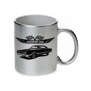 Oldsmobile Cutlass 442  1966  Tasse / Keramikbecher m. Aufdruck