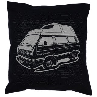 T3 Westfalia Joker Hochdach Car-Art-Kissen / Car-Art-Pillow