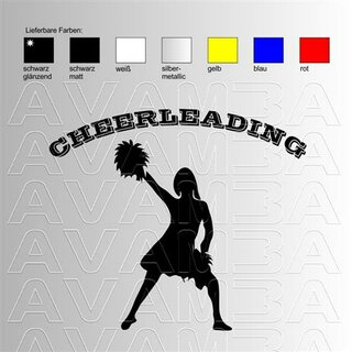 Cheerleading (3) Aufkleber Sticker