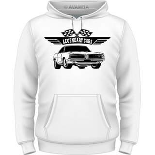 Dodge Charger 1969 muscle car T-Shirt / Kapuzenpullover (Hoodie)