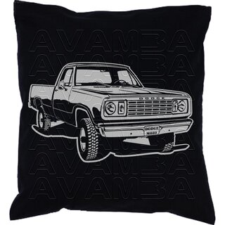 Dodge Power Wagon W200  M880  Car-Art-Kissen / Car-Art-Pillow