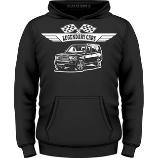Land Rover Discovery Station  T-Shirt / Kapuzenpullover (Hoodie)