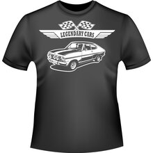 OPEL Kadett B Coupe Version2  -  Opel T-Shirt /...