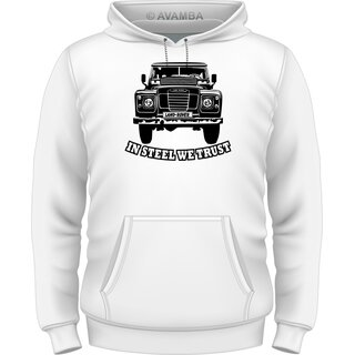 Land Rover Serie 2 (1958 - 1971) - Land Rover T-Shirt / Kapuzenpullover (Hoodie)