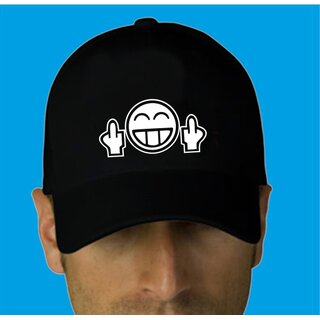 Smiley double fu** off Basecap - Kappe - Mütze