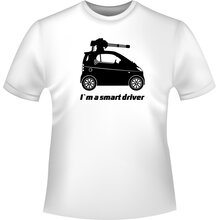 Smart Fortwo Machinegun  smart T-Shirt/Kapuzenpullover...