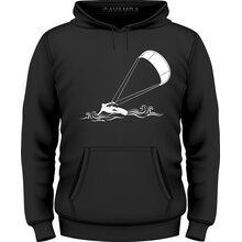 Kitesurfen Kiting in Waves T-Shirt/Kapuzenpullover (Hoodie)