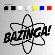 BAZINGA aus The Big Bang Theory