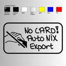 No Card Auto NIX Export