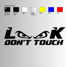 Look - dont touch