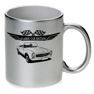 Mercedes W113 Pagode Version3  Tasse / Keramikbecher m. Aufdruck