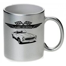 Mercedes W113 Pagode Version3  Tasse / Keramikbecher m....