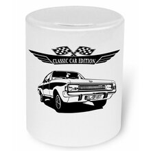 OPEL Commodore A 1967 - 1971 Moneybox / Spardose mit...