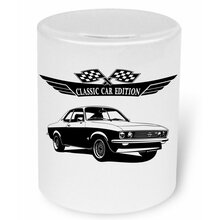 OPEL Manta A (Version 2) Moneybox / Spardose mit Aufdruck