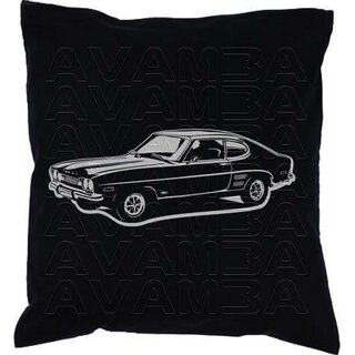 Ford Capri Mk. 1 (1968-1973) Car-Art-Kissen / Car-Art-Pillow