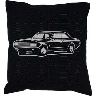 Ford Consul /Granada (1972-1975) Car-Art-Kissen / Car-Art-Pillow