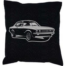 OPEL Manta A (Version 2) Car-Art-Kissen / Car-Art-Pillow