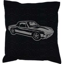 Porsche 914 Ver2  Car-Art-Kissen / Car-Art-Pillow
