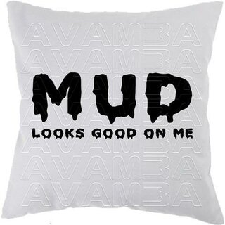 OFFROAD Mud looks good on me  Car-Art-Kissen / Car-Art-Pillow