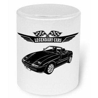 BMW Z1 Roadster Version 2 (1989-1991) Moneybox / Spardose mit Aufdruck