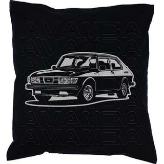 Saab 99 Turbo Coupè (1978-1984) - Car-Art-Kissen / Car-Art-Pillow