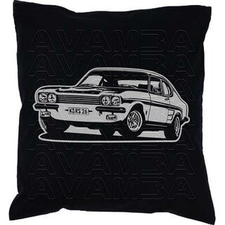 Ford Capri RS 2600 (1970 - 1973)  Car-Art-Kissen / Car-Art-Pillow