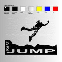Basejumping Aufkleber/ Sticker