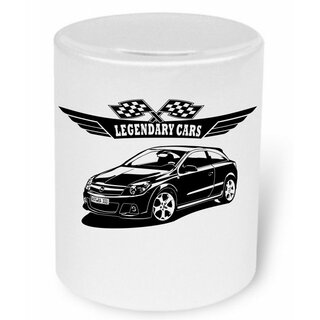 OPEL Astra J Version 2  (2009-2015)  -  Moneybox / Spardose mit Aufdruck