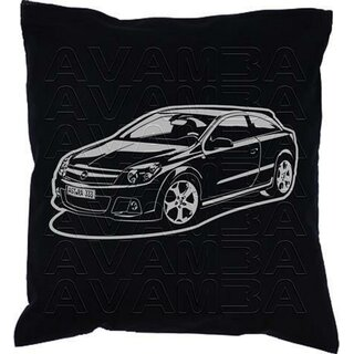 OPEL Astra J Version 2  (2009-2015) - Car-Art-Kissen / Car-Art-Pillow