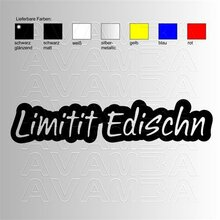 Limited Edition = Limitit Edischn