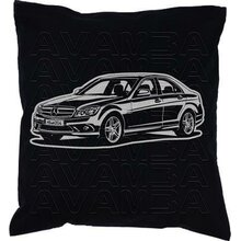 Mercedes C - Klasse W 204 (2007 - 2015) - Car-Art-Kissen...
