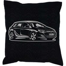 OPEL Astra J Version 3  (2009-2015) - Car-Art-Kissen /...