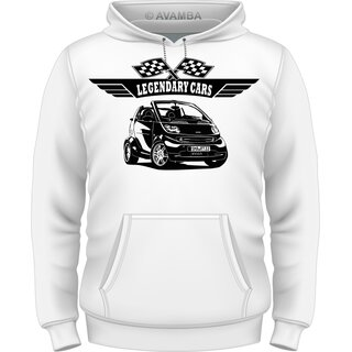 Smart Fortwo Cabrio (2003 - 2007) Auto T-Shirt/Kapuzenpullover (Hoodie)
