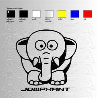 JDM Sticker - Phant