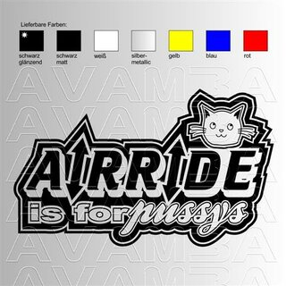 Airride is for pussys