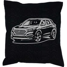 Hyundai Tucson (ab 2015)  Car-Art-Kissen / Car-Art-Pillow