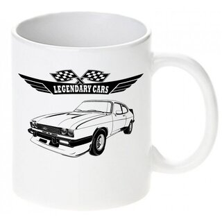 Ford Capri III  2.8 Turbo (1981-1982) Tasse / Keramikbecher m. Aufdruck