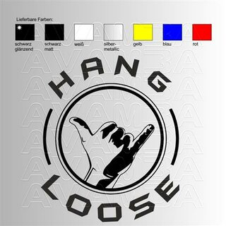 Hang Loose Sticker 2